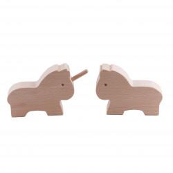 Le cheval et la licorne - Paulette et Sacha