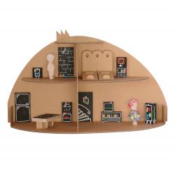 Maison de poupée hacienda, Paulette et Sacha