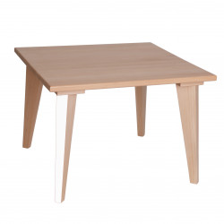 Table mini boudoir - blanc - Paulette et Sacha
