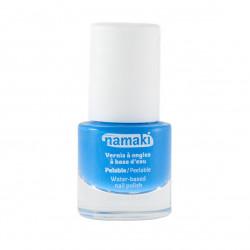 Vernis à ongles bleu ciel pelable à base d'eau Namaki