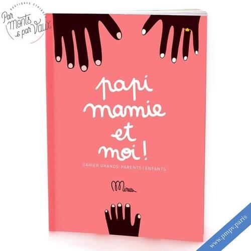 La fête des grands-mères, c'est bientôt ! 🥰   On adore ce petit livre ludique de chez Minus qui permettra à coup sur de créer de jolis moments de partage et de souvenirs...   En plus, ce livre Made in France 🇨🇵 est produit dans un ESAT à partir d'encres végétales 🌱   Plus d'informations sur notre e-shop 👉🏻 www.pmpv.paris   #pmpvparis#pmpv#fetedesgrandsmeres#7mars#ecoresponsable#cadeau#cadeauecoresponsable#mamie#livre#liens#minus#livreludique#boulognebillancourt#conceptstore#eshop