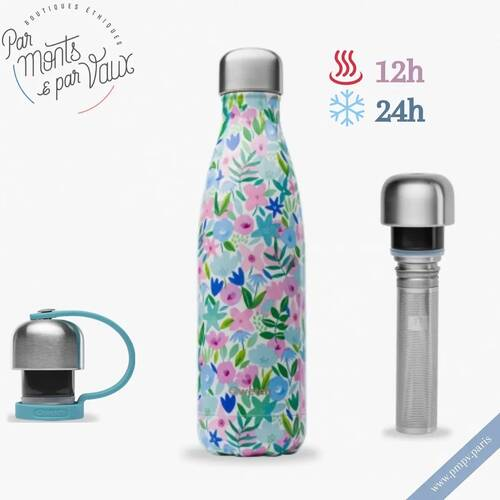Les bouteilles isothermes sont idéales pour garder votre eau bien fraîche cet été 💦   Plage🏖, montagne🏞 ou centre-ville🏰, elle vous accompagnera partout en maintenant vos liquides au froid pendant 24h et 12h au chaud !   Pensez aux accessoires très pratiques : le bouchon avec attache pour la transporter facilement et le bouchon infuseur pour alterner entre thé et boisson fraîche 😉   Tous nos modèles et contenances disponibles sur 👉🏼 https://www.pmpv.paris   #pmpv#pmpvparis#conceptstore#ecoresponsable#bouteilleisotherme#gourdes#isotherme#accessoires#thé##qwetch#boulognebillancourt