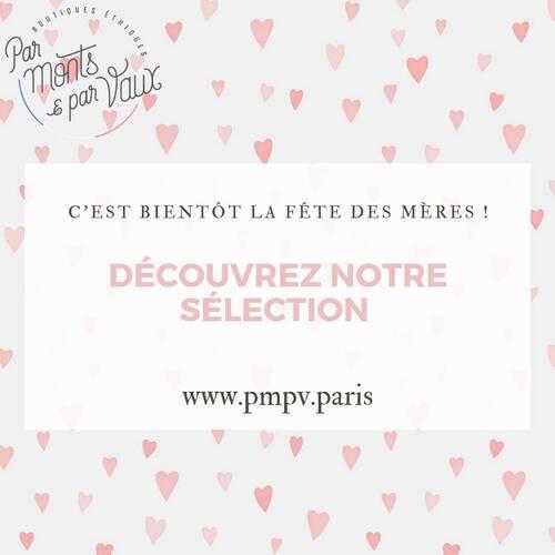 La fête des mères approche ! 💕   Profitez de notre sélection de produits éthiques pour gâter votre maman 🥰   Plus d'informations sur notre e-shop 👉🏼 www.pmpv.paris   #pmpv#pmpvparis#parmontsetparvaux#fetesdesmeres#cadeaux#ideecadeau#conceptstore#ecoresponsable#ethique#madeinfrance#boulognebillancourt